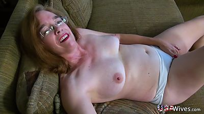 USAwives Hairy Granny Pusssy Fucked..