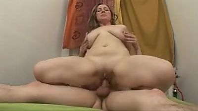 Chubby Mature Anal Fucked