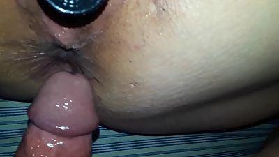 BBW with Big Pussy Lips and Vibrator..