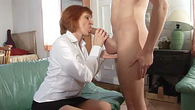 sex mom mature with young nylon