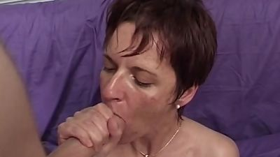 MomsWithBoys Mature Model Takes On..